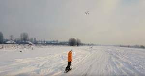 Droneboarding met power